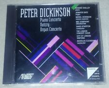 PETER DICKINSON: PIANO & ORGAN CONCERTOS; OUTCRY cd