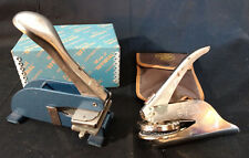 """Pirouette Stationery Embosser & """"Official"""" Champ Embosser W/ Cases Baltimore, MD"""