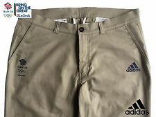ADIDAS equipo de GB Rio 2016 Elite Lady atleta de Algodón Tela De Algodón Pantalones Pantalones Tamaño 16
