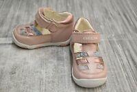 **Geox Respira New Balu Comfort Shoes, Toddler Girls Size 3 / EU 18, Pink NEW