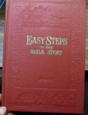 EASY STEPS in the BIBLE STORY Hardback original Australian made book Childrens