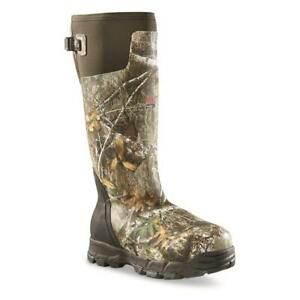 New Men's 18 Waterproof Insulated -70 F Hunting Rubber Boots, 1,600 G Realtree