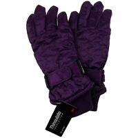 Joe Boxer Girls Quilted Winter Gloves 3M 40g Thinsulate Snow Ski Hiking Warm NEW