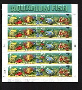 Aquarium Fish Plate of 20 Issued 1999
