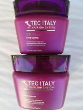 2 New Tec Italy Hair Dimension Amino Keratin Reconstructor Treatment 9.57 oz ea.