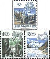 Schweiz 1242-1244 (kompl.Ausgabe) postfrisch 1983 Tierkreiszeichen