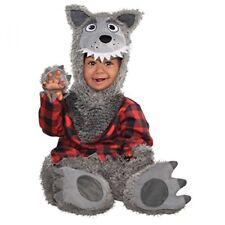 Baby Wolf Costume (12-24 Months) - Dress Fancy Halloween Were Toddler Animal
