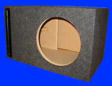 "12"" ALPINE TYPE R PORTED GREY SUBWOOFER SUB ENCLOSURE BOX"