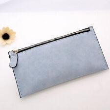 Women Purse Leather Zipper Wallet Clutch Card Holder Lady Long Tote Handbag NEW