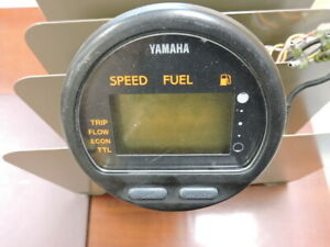 USED YAMAHA SPEED FUEL  MULTI-FUNCTION GAUGE