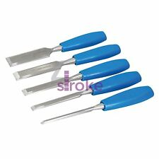 5Pce Wood Chisels Set Carpentry Woodwork Wood Carving Tools
