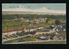 Somerset Weston-super-Mare UPHILL Panoramic view 1924 PPC