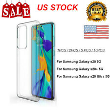 1~10PCS Protective Back Cover Case For Samsung Galaxy S20 / S20+ / S20 Ultra Lot