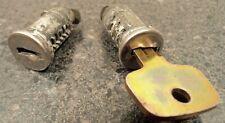 Thule N100R Lock Core Pair w/ installation key - No Key for Lock Rack Ski Bike