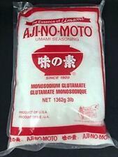 AJINOMOTO 3 LBS MSG Bag (1362g) MONOSODIUM GLUTAMATE Umami Seasoning