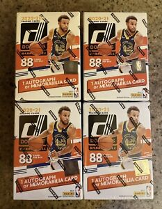 LOT 4 Donruss Basketball Blaster Boxes 2020-2021 Brand New Sealed