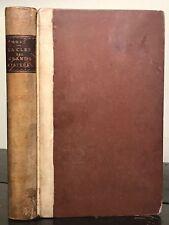 1861 - ELIPHAS LEVI - LA CLEF DES GRANDS MYSTERES 1st/1st KEY OF GREAT MYSTERIES