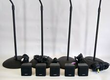 BOSE Acoustimass 6 Series III Home Theater Cube Speakers & Stands & Cords