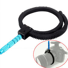 Flexible Adjustable Gear Ring Belt w/Hand For DSLR Camera Follow Focus Zoom FJ