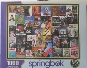 GOING TO THE MOVIES SPRINGBOK PUZZLE