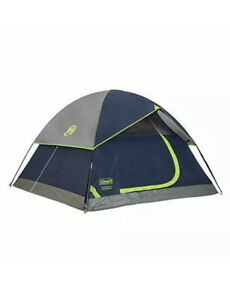 Coleman 4 Person Camping Sundome Tent Weatherproof 4 Person