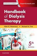 HANDBOOK OF DIALYSIS THERAPY - NISSENSON, ALLEN R., M.D./ FINE, RICHARD E., M.D.