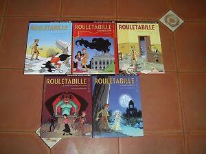 ROULETABILLE lot de 5 BD du tome 1 au tome 5 éditions soleil