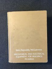 Mechanical and Electrical Equipment for Buildings (7th Edition) Stein, etc.
