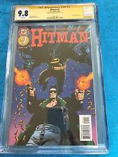 Hitman #1 - DC - CGC SS 9.8 NM/MT - Signed by John McCrea - Batman