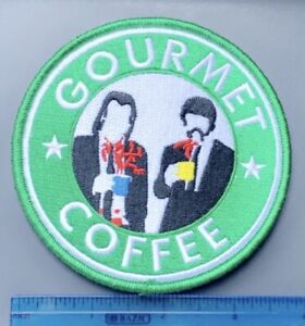 Pulp Fiction GOURMET COFFEE Hook & Loop Military Patch