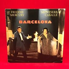 "FREDDIE MERCURY & MONTSERRAT CABALLE Barcelona 1992 German 7"" vinyl Single P"