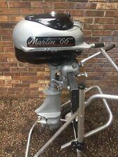 1950s Martin 66 Antique Vintage Outboard Motor Restored