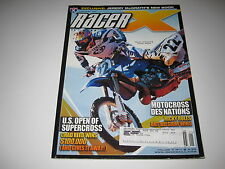 2004 January Racer X Magazine motocross mx dirt bike racing action CHAD REED