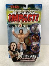 TNA IMPACT CHRIS SABIN  ACTION FIGURE 2006 Marvel Toybiz MOC NIP Wrestling