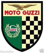MOTO GUZZI SHIELD RETRO STICKER GUZZI CAFE RACER STICKER LAPTOP STICKER