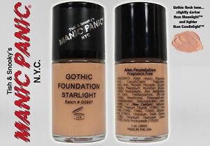 MANIC PANIC Naturals DREAMTONE Vegan Starlight Gothic Goth Foundation NEW