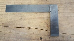 """Vintage Moore & Wright 6"""" Engineers Precision Square, Made in England"""