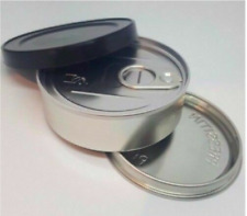 Cali Pressitin Press it in Self-seal Tuna Tins with Black Lids 100ml / 3.5g X50