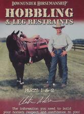 Clinton Anderson HOBBLING AND LEG RESTRAINTS horse training DVD
