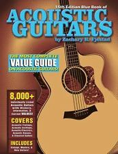 Blue Book of Acoustic Guitars by Zachary R. Fjestad (2014, Paperback, Revised)