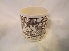 JOY TO NEW YORK Coffee Mug Cup 10 oz USA Macy's Empire State Radio City Music