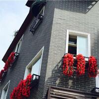 Artificial Violet Flowers Hanging Garland Wedding Balcony Decoration best