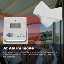 Wireless PIR Motion Sensor Detector Door Bell Chime Alarm Security Infrared