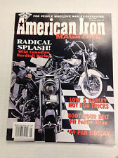 American Iron Magazine Wild Canadian Hardtail Harley May 1994 031017NONRH