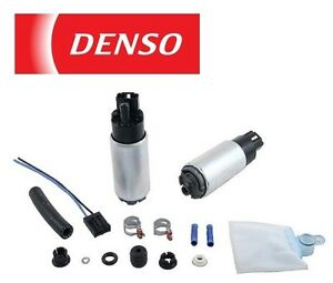 DENSO OEM Electric Fuel Pump with Strainer Filter Kit 950-0120 9500120