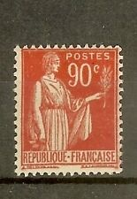"""FRANCE STAMP TIMBRE N° 285 """" TYPE PAIX 90c ROUGE CARMINE """" NEUF xx TB"""