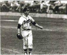 WARREN SPAHN MILWAUKEE BRAVES HALL OF FAMER 1957 8 X 10 PHOTO