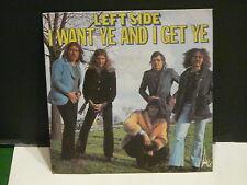 LEFTSIDE I want ye and  i get ye sg 534