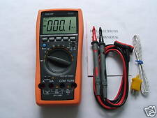Aidetek VC97 3 3/­4 Auto range digital multimeter all func prot AC DC buzz temp