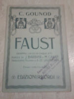 C. Gounod - FAUST - Edizioni Ricordi